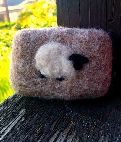 Sheep Soap Felted Soap