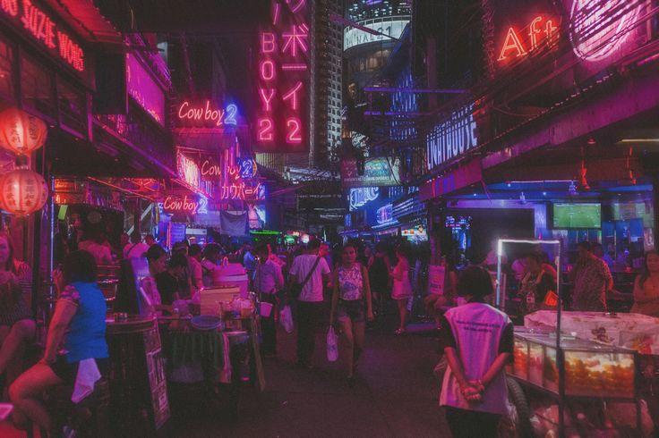 A night in Bangkok | Art print $40 AUD