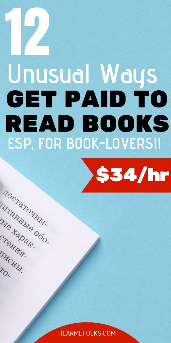 12 Unusual Ways to Get Paid to Read & Review Books