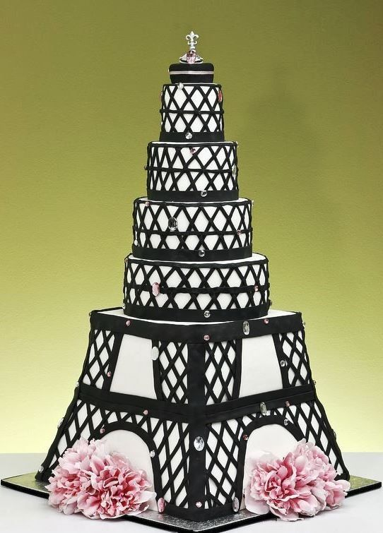 Торт эйфелева башня шаблон