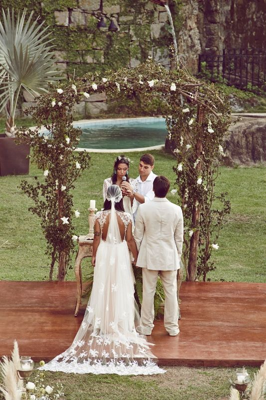 Casamento Boho: Renata e Diego