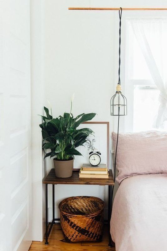 Small Bedside Table Ideas: 8 Creative Ideas For Nightstand Alternatives