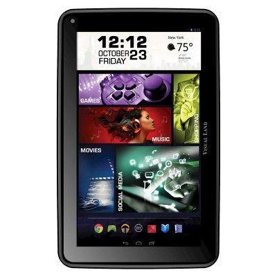 Prestige Elite 7Q 7 QuadCore 8GB KitKat 4.4 Android Tablet, Wifi, 2MP Camera, 1024x600 Touchscreen, Black