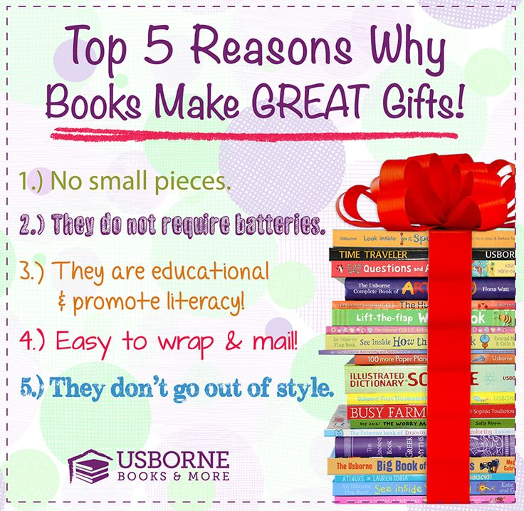 Books Make Great Gifts! What are you waiting for? Shop!