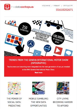 The March issue of our #email #marketing newsletter is OUT NOW!  From our #infographic highlighting key trends from the Geneva International Motor Show to discussing the power of #social #data and the rise in #mobile #gambling plus more, it's an interesting read!  Sign up to get it delivered to your inbox right now http://ow.ly/uya4f