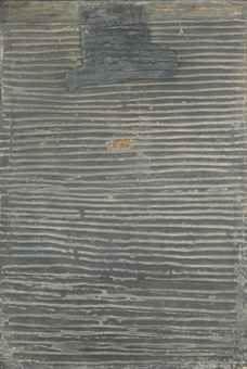 Antoni Tapies, Relief Gris. No. V