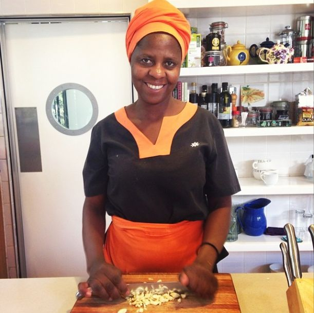 We are so very lucky to have Nomsa - nobody cooks a better #FeelGood lunch than she does!