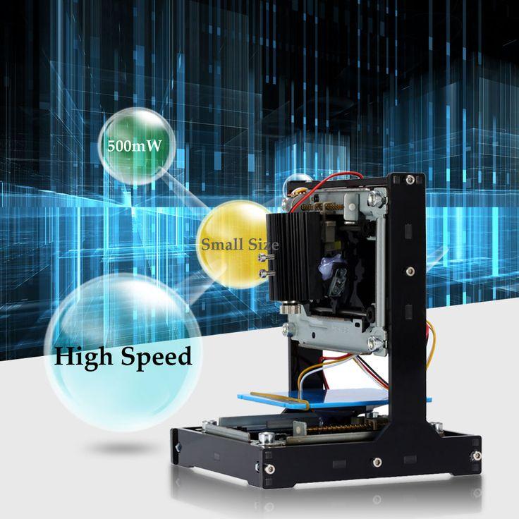 NEJE 500 mW Mini Láser Grabador USB DIY Máquina de Grabado Láser Automático Impresora láser Tallador de Madera Router Portátil con Gafas en Enrutador de Madera de Mejoras para el hogar en AliExpress.com | Alibaba Group