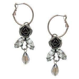 SILVER EARRINGS - glass, metal, alloy, lead, nickel, cadmium, free, ... - Four Corners | Online Boutique Fashion Jewellery