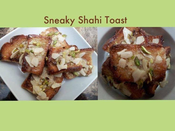how to make shahi toast in hindi