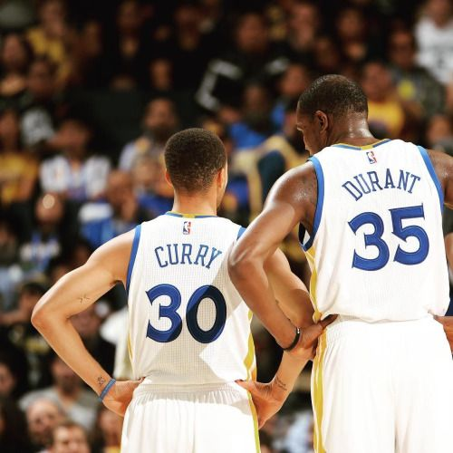 Steph and KD