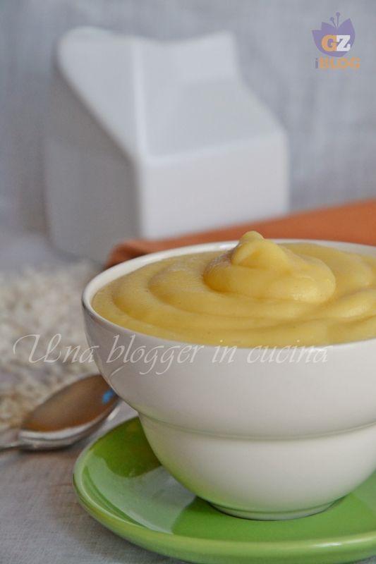 Crema pasticcera di riso