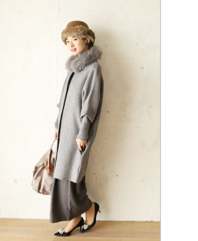 """[Rakuten рынка]""""французского""""вырезать-и-укладки наряд 1 часть должна быть завершена меховой воротник пальто 1 месяц 1 день 22 часа продаж новый:cawaii"""