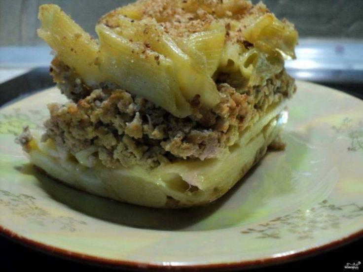 Макаронник с мясом - пошаговый рецепт с фото на Повар.ру