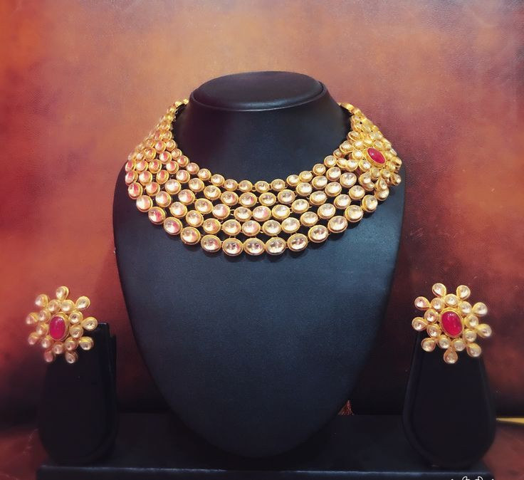 Adorn your style with this Kundan Studded Choker Necklace & Earrings. Wear this elegant set for any occasion and you are sure to stand out in the crowd! ‪#‎RentAnAttire‬ ‪#‎Differentisbeautiful‬ ‪#‎TryitBookitFlauntit‬ ‪#‎IndianFashion‬ ‪#‎Weddingdiaries‬ ‪#‎Jewelryonrent‬ ‪#‎Kundan‬ ‪#‎Gold‬ ‪#‎Design‬ ‪#‎Bridal‬ ‪#‎Ethnic‬ ‪#‎Bigfatindianweddings‬ ‪#‎Planyourwedding‬ ‪#‎Wedmegood‬ ‪#‎Weddingplanners‬ ‪#‎Photographers‬ ‪#‎Weddingbloggers‬ ‪#‎Indianbrides‬ ‪#‎Pune‬ ‪#‎Punefashion‬