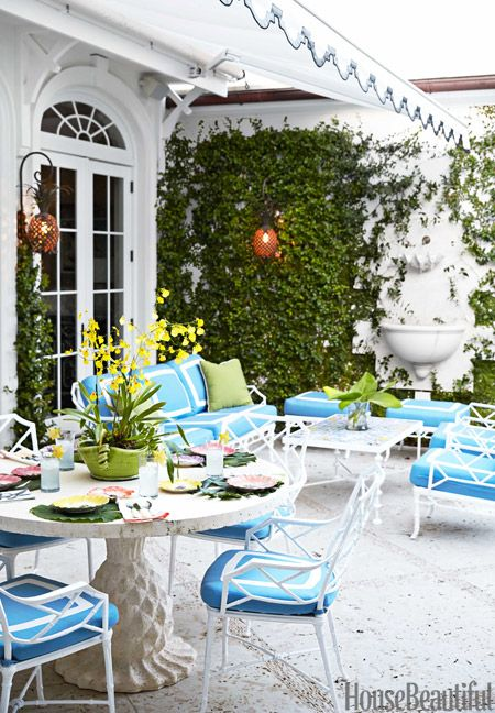 Best 25 beach patio ideas on pinterest for Palm beach home collection