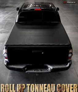 Details about For 2002-2008/2009 Ram 6.5 Ft 78″ Short Bed Cab Lock & Roll Soft Tonneau Cover