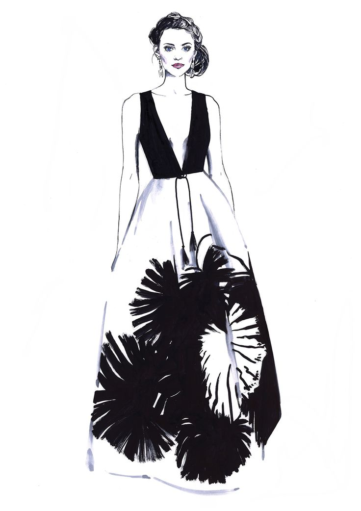 Fashion illustration // Diana Kuksa