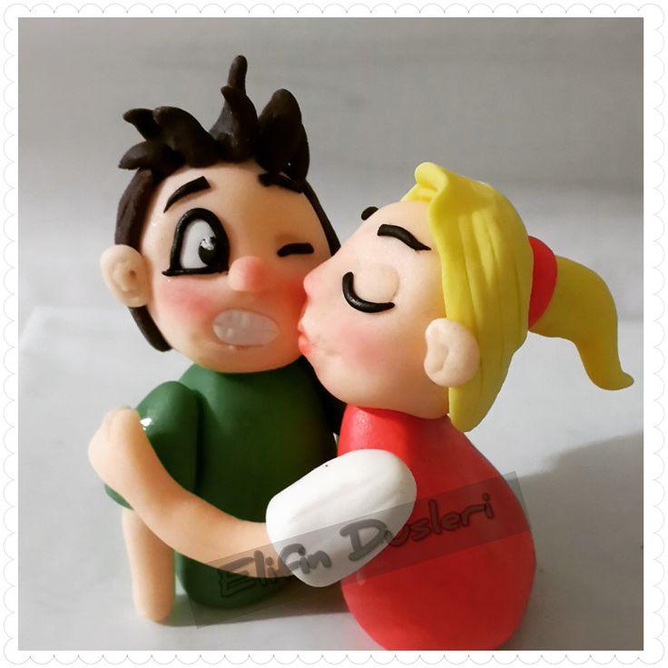 şipsevdi,aşk, love,cake,modelling, sugarmodelling,