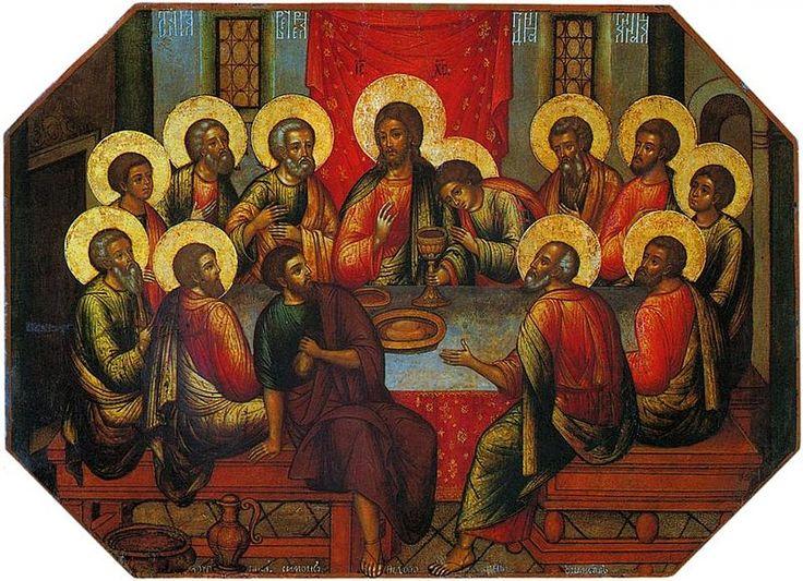 mystical supper: Last Supper, Jesus, Art, Suppers, Holy Thursday, Simon Ushakov, Maundythursday