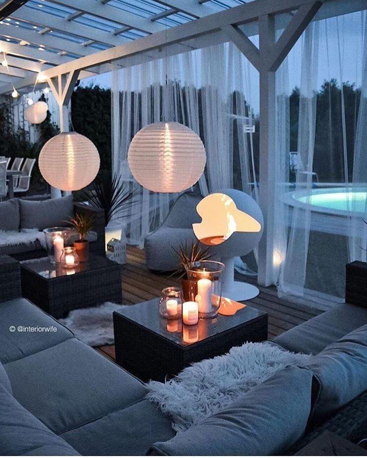 33 Patio-Ideen für den Außenbereich die Sie dies…