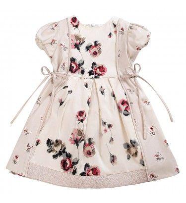 Floral purple pansies dress simonettashop com children s clothes