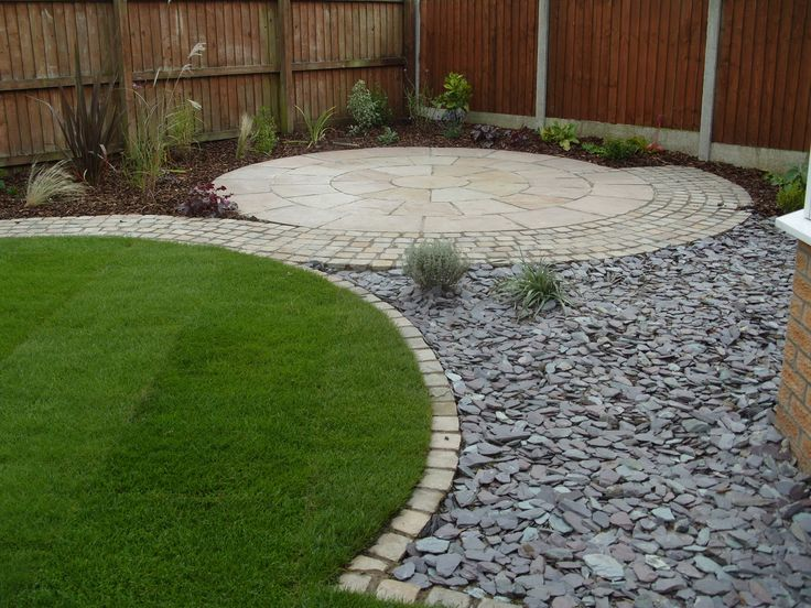213 best images about garden circle gardens on pinterest for Garden idea with stones