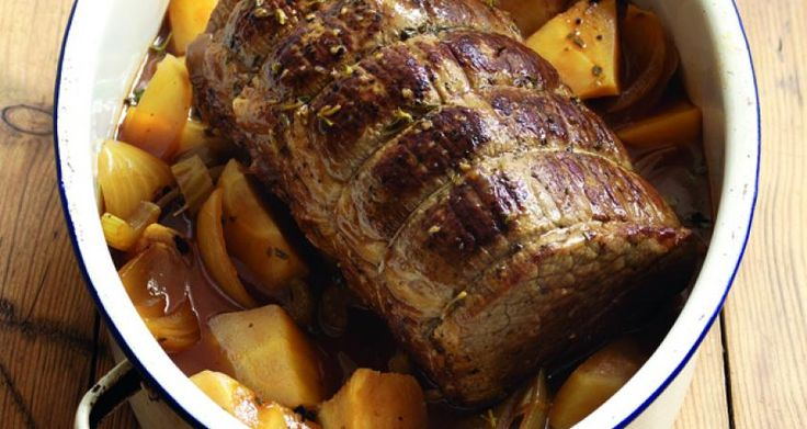 Slow cooked (slow cooker) Tangy Pot Roast. Use silverside or a brisket joint