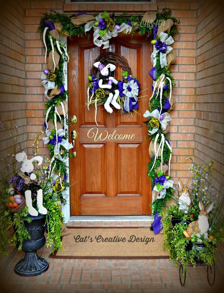 Victorian Easter Door Cat S Holiday Amp Home Decor My Door