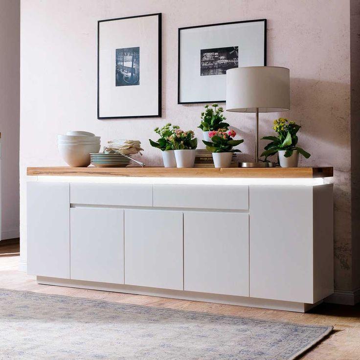 tolle sideboard wohnzimmer weiss