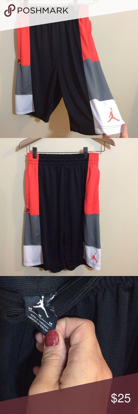 "Nike Air Jordan Trillionaire NBA Basketball Shorts Nike ""Air Jordan"" logo polyester basketball gym shorts. Size Medium. Nike Shorts Athletic"