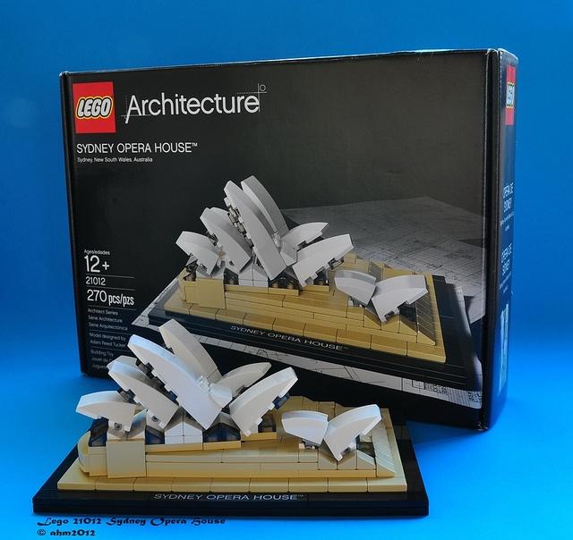 Lego 21012 Sydney Opera House, via Flickr.