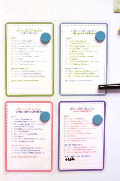 Best 25+ Kids checklist ideas on Pinterest Kids morning - daily checklist