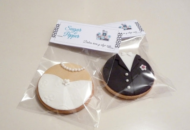 Estrade's cakes: galletas de boda, novios