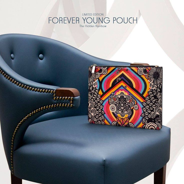 Forever Young Leather Pouch #LimitedEditionBags #ColourfulPouches