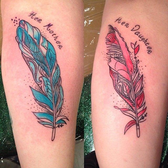 25 Sweet Mother Daughter Tattoos