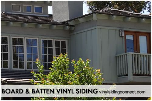 Board and batten vinyl siding types of siding explore for Vertical siding options