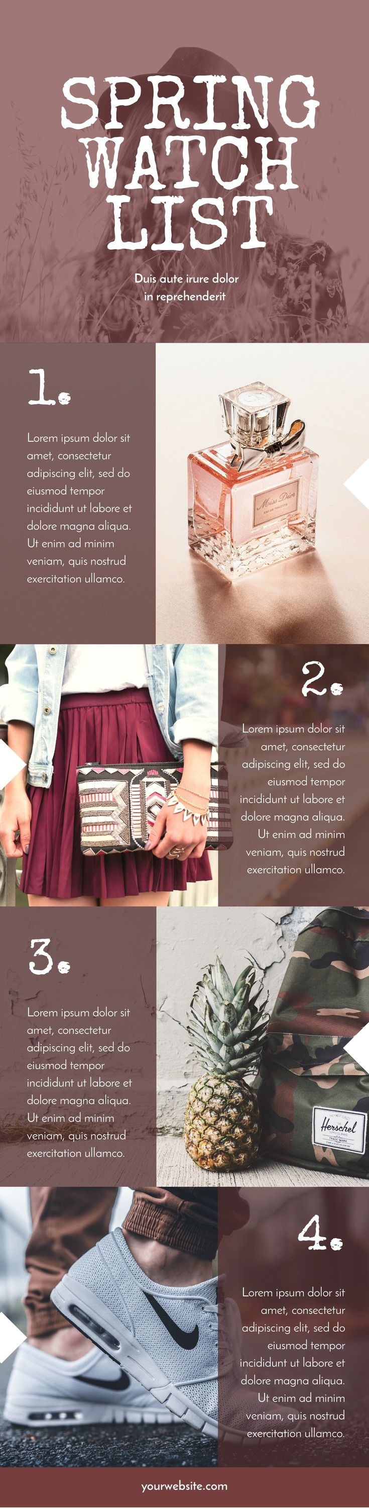 Product Showcase Infographic Template by Easil - 5 Important Reasons to Share Stunning Blog Graphics #ecommerce #templates #pinterestmarketing #infographic