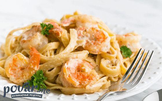 Креветки в сливочно-чесночном соусе — как приготовить