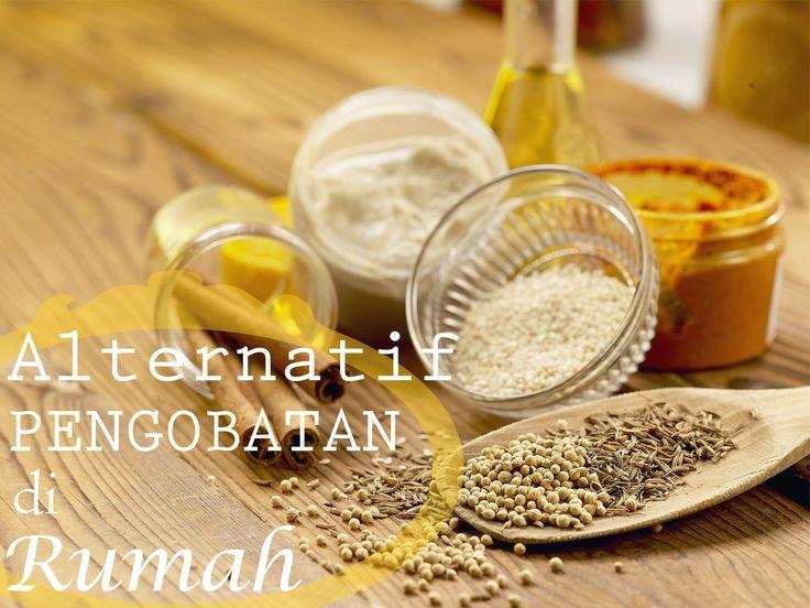 Beberapa bahan makanan atau tanaman ini dapat menjadi alternatif pengobatan untuk keluarga Anda.