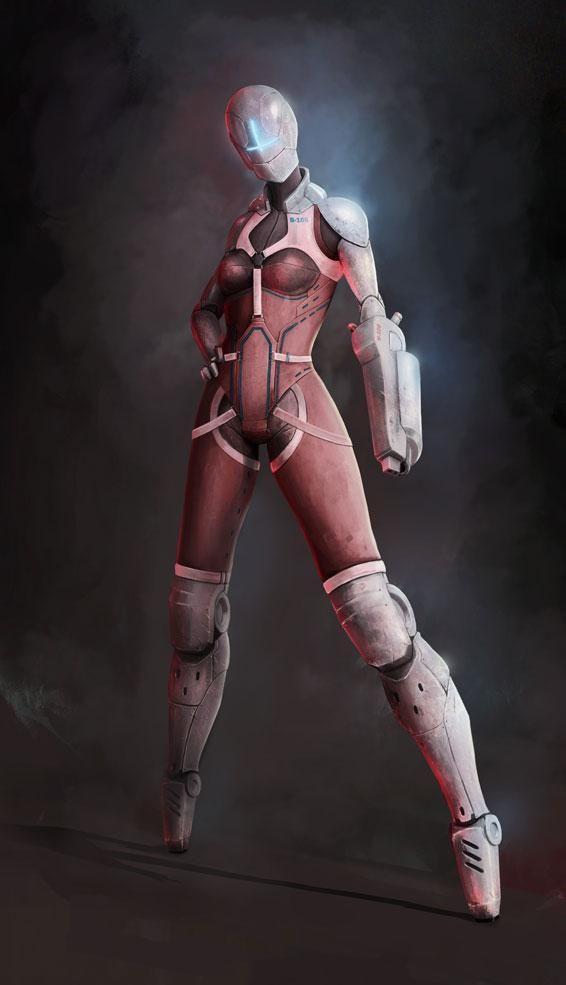 futuristic women females - photo #34