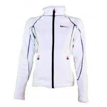Erg mooi wit fleece vest voor dames. Het dames fleece vest voelt heerlijk zacht aan, heeft een ritssluiting en open zakken op de heup  http://www.bjornson.nl/fleece-vest-dames-wit-benthe.html
