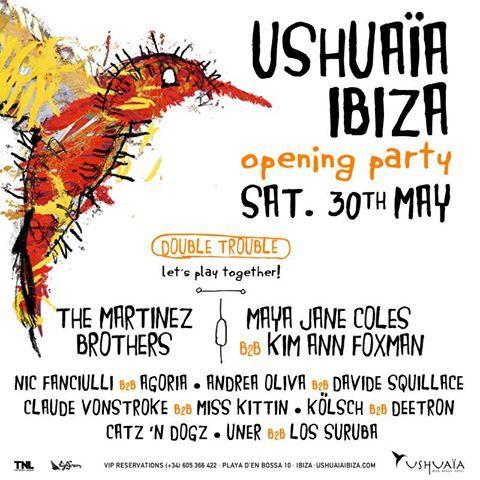 Opening Party Season 2015 @ Ushuaia Ibiza, Ibiza, ES
