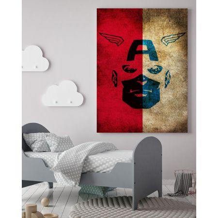 Captain America Canvas Art - Marvel Canvas Art