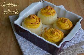 Zibaldone culinario: Cipolle al forno ripiene di ricotta e zucca