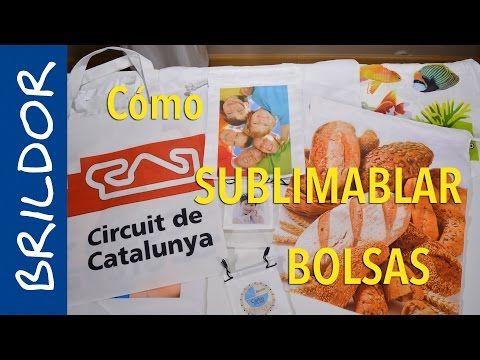 Cómo sublimar bolsas - YouTube
