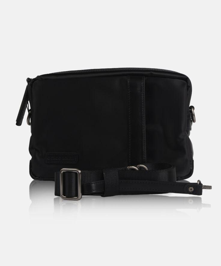 Giorgio Agnelli men's bag Bergamo 8815-6 Black #men #bag #clutch #leather