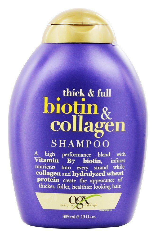 Organix - Shampoo Thick & Full Biotin & Collagen - 13 oz.