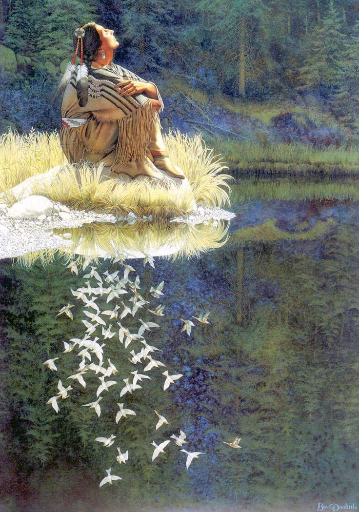Let My Spirit Soar - Bev Dolittle