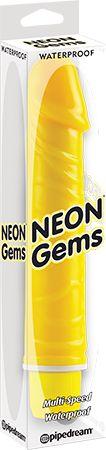 Vibrators > Vibrators > Gems (Yellow) - www.bunnyleisure.com